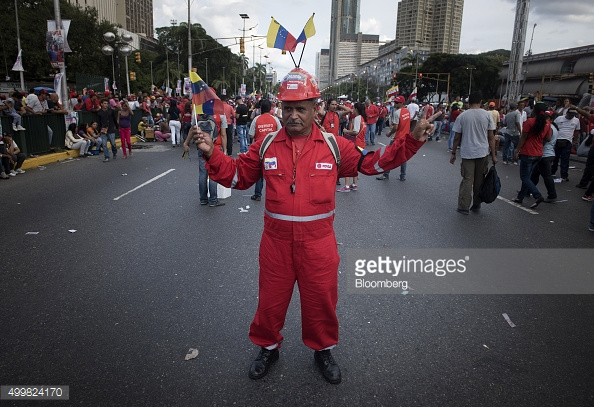 Venezuela is dubbed the most corrupt nation in the Americas.  (Photographer: Carlos Becerra/Bloomberg via Getty Images)