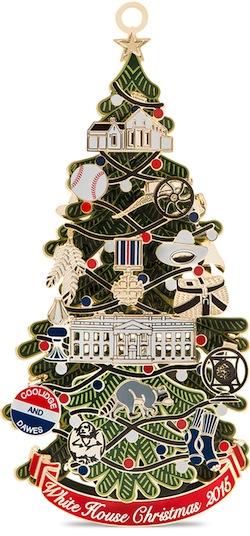 white-house-ornament