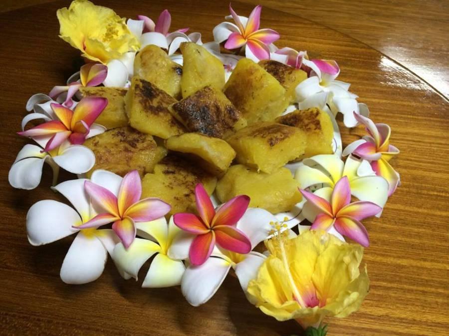 cassava-pudding