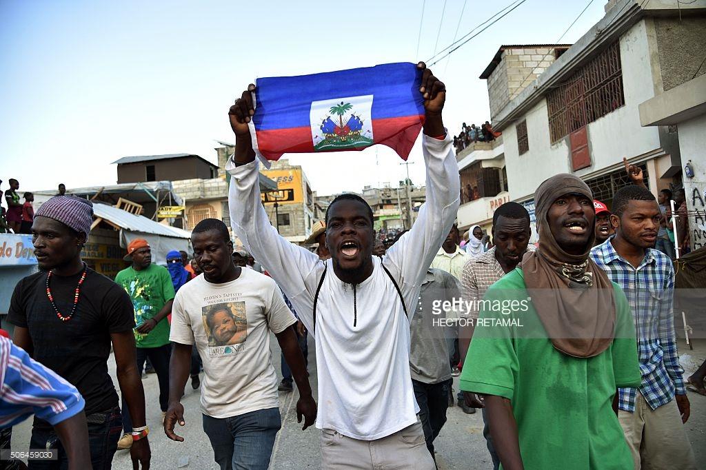 haiti-protestors-pre-election