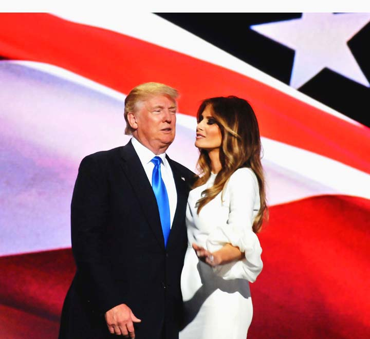 DonaldTrump-and-wife-MelaniaTrump