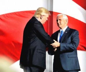 Presidential-nominee-DonaldJ TrumpandVicePresidentialnomineeMikePence