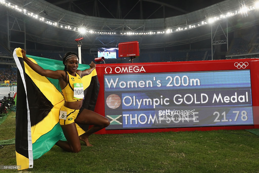 elaine-thompson-200-m-win-rio2016
