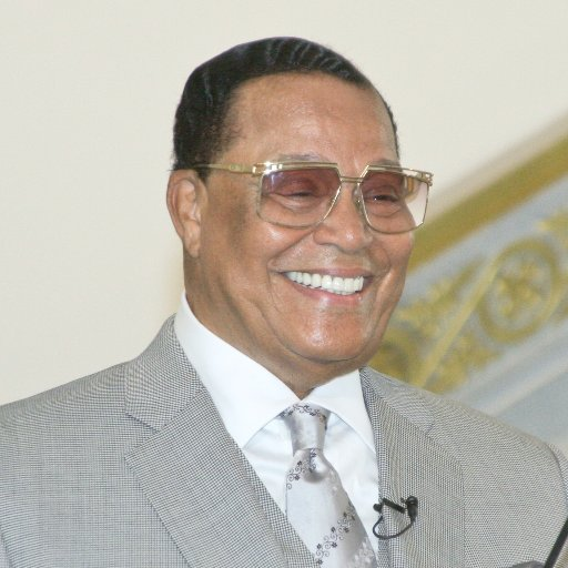 Nation of Island leader Louis Farrakhan
