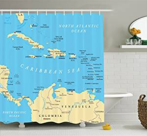caribbean-shower-curtain