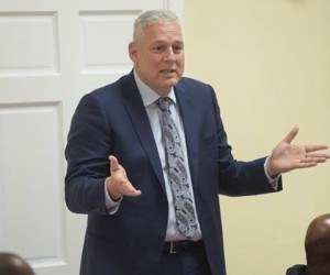 St. Lucia Prime Minister And Minister Of Finance Allen Chastanet