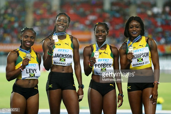China take women's 4X100m bronze at IAAF World Relays