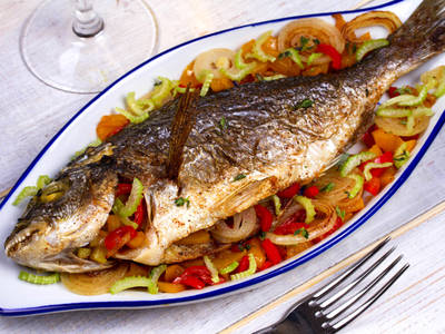 Caribbean recipe of the week stuffed roast fish for Caribbean fish recipes