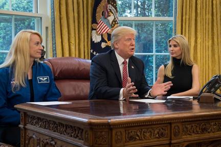 trump-and-trump-on-NASA-call