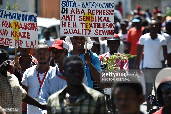 haitian-workers-protest