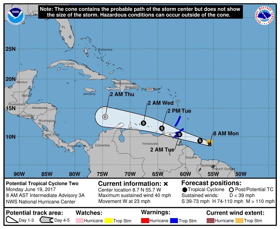 tropical-storm-bret--caribbean