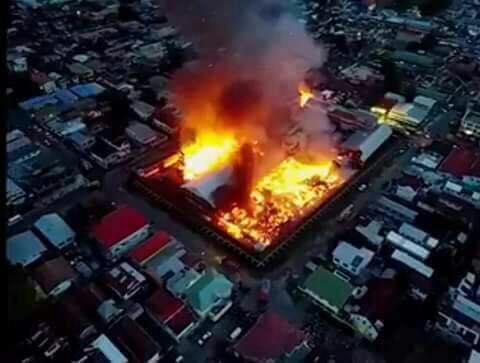 burning-guyana-jail