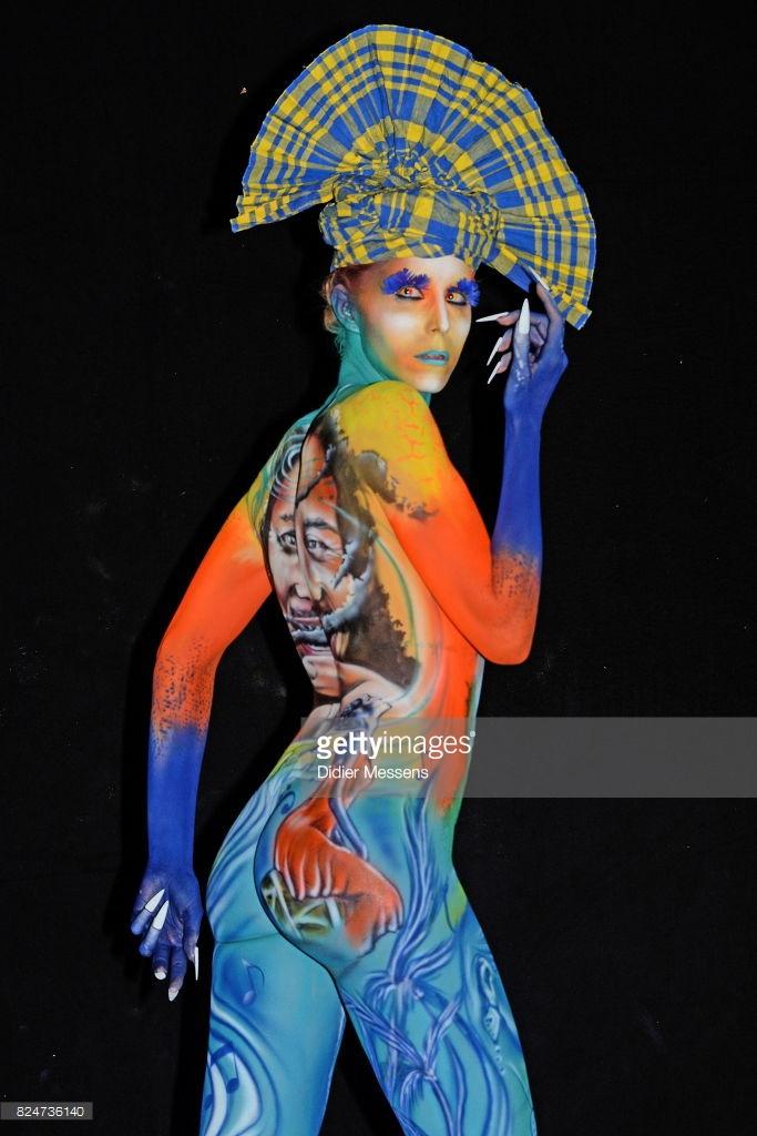 caribbean-artist-Benoi-Bottala- wins-at-world-body-painting-festival