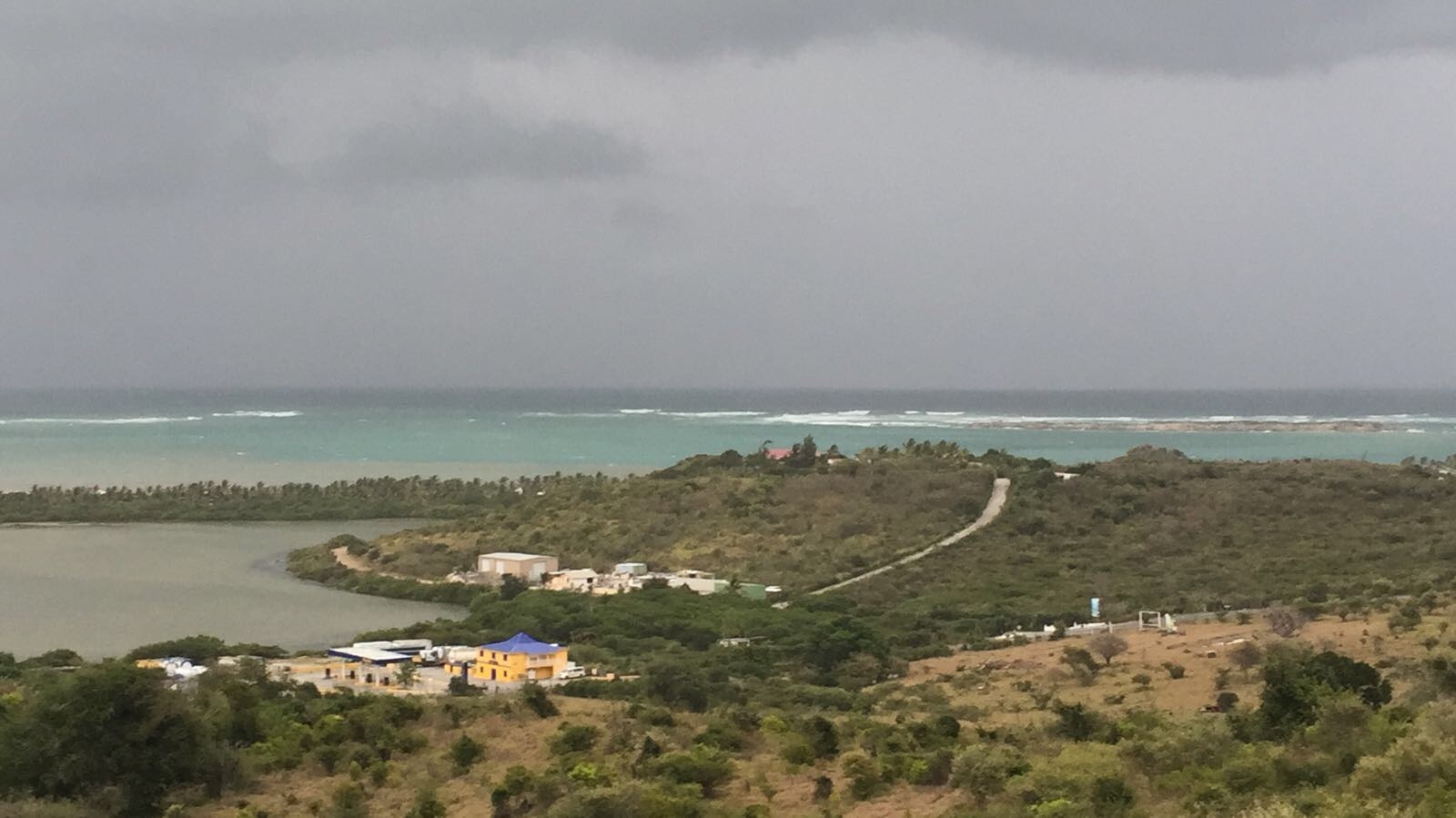 Island of Barbuda 'literally under water' after Hurricane Irma