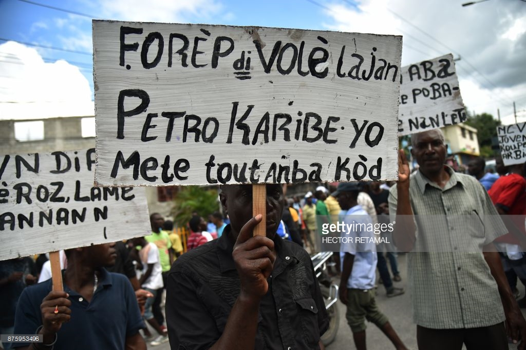haitians-protest-army