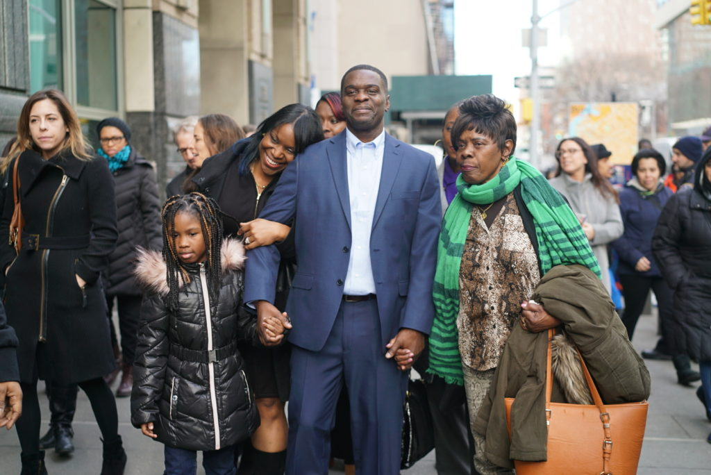 Brooklyn man freed after decades in prison for crimes he didn't commit