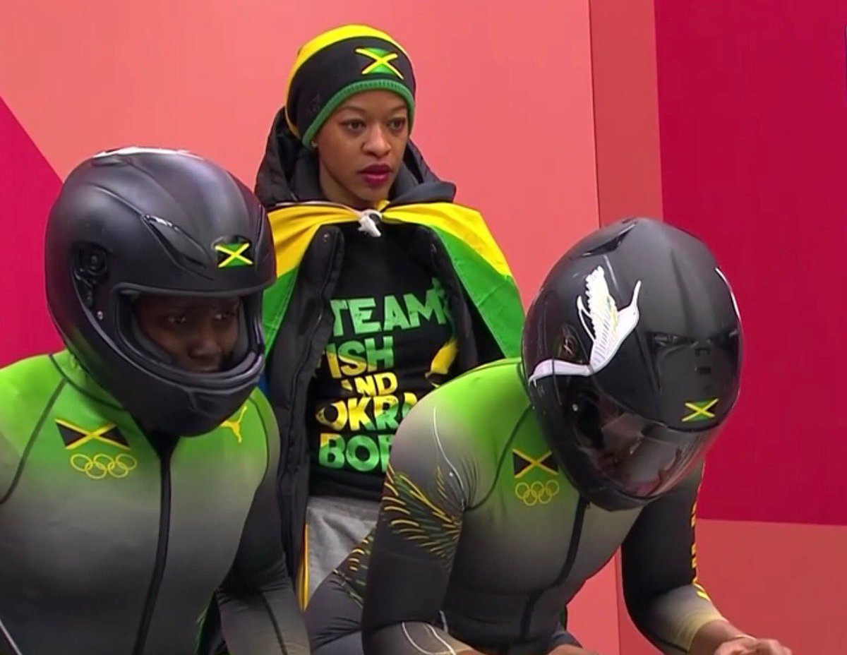 Jamaican bobsled team finishes second-from-bottom at Winter Olympics