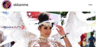 usain-bolt's-girlfriend-at-jamaica-carnival