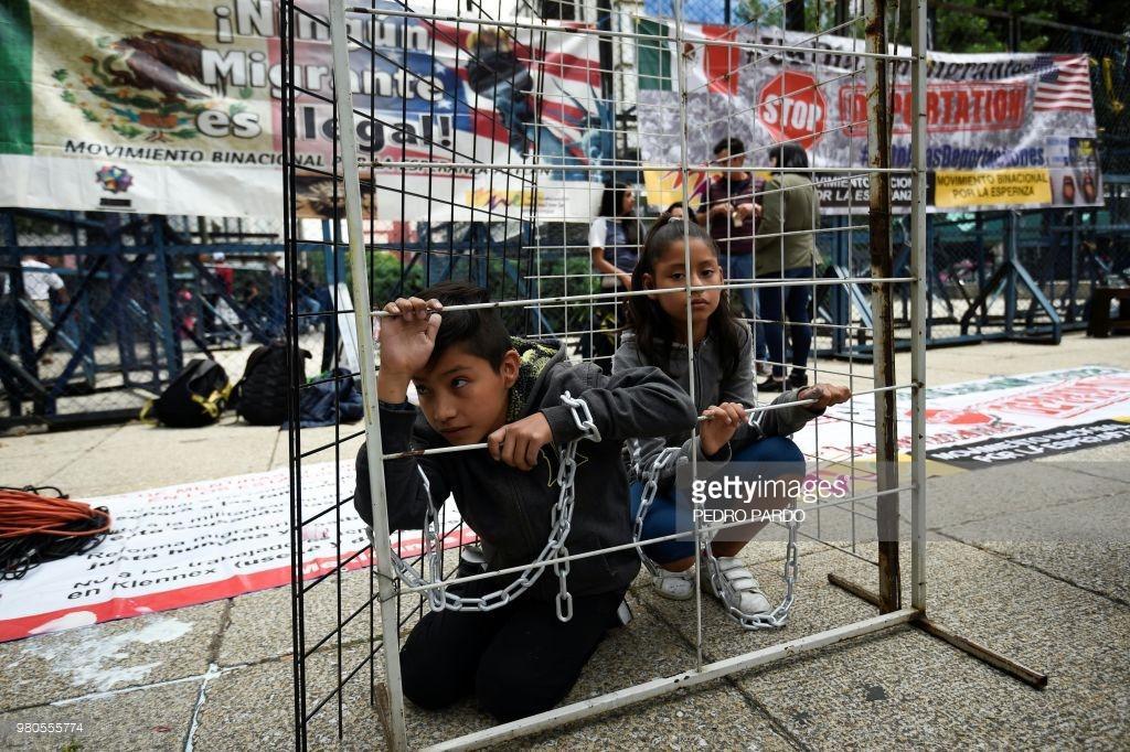 Latin America News - Central American Immigrants Protest ...
