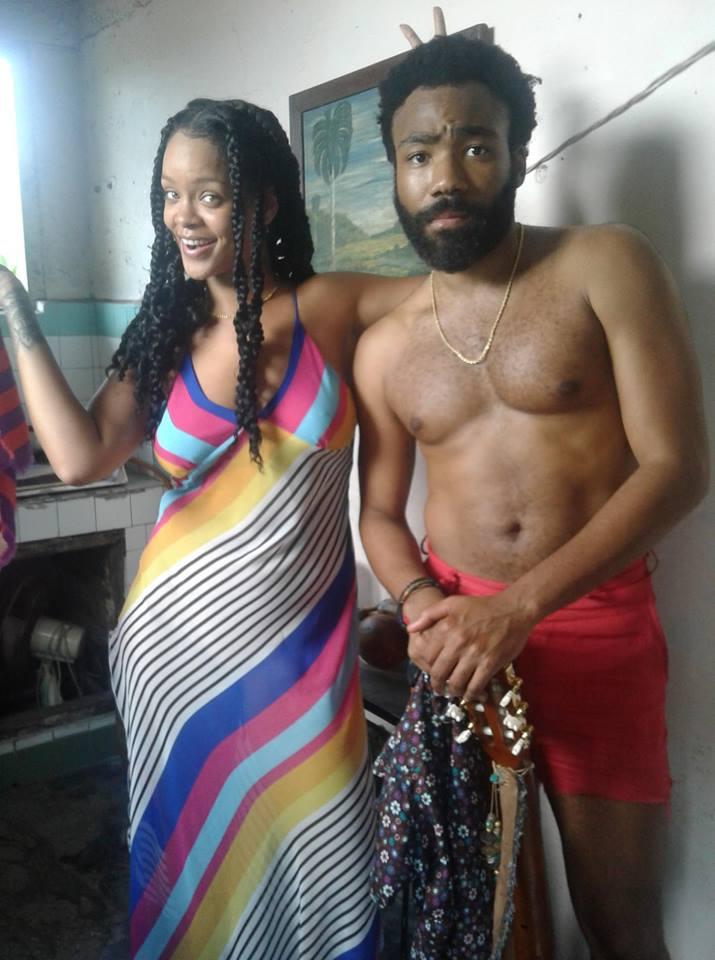 Rihanna-and-Childish-Gambino