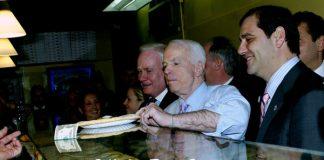 John-Mcain-At-Verranzo-Pizza-Brooklyn-NY