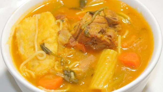 Receta de sopa Joumou haití Receta de sopa Joumou haití