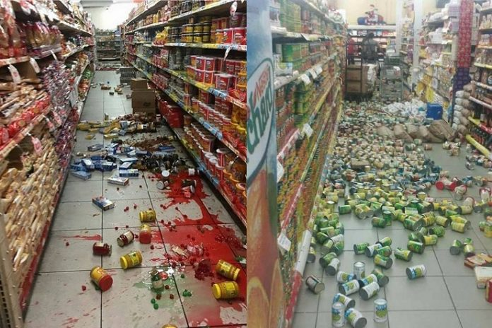 Trinidad-supermarket-after-August212018-earthquake