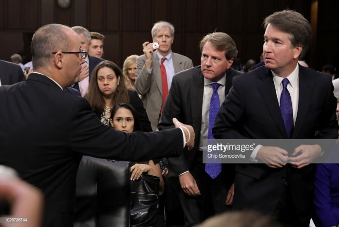 Kavanaugh-ignores-Fred-Guttenberg