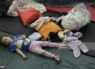 children-among-immigrantcaravan-in-tijuana