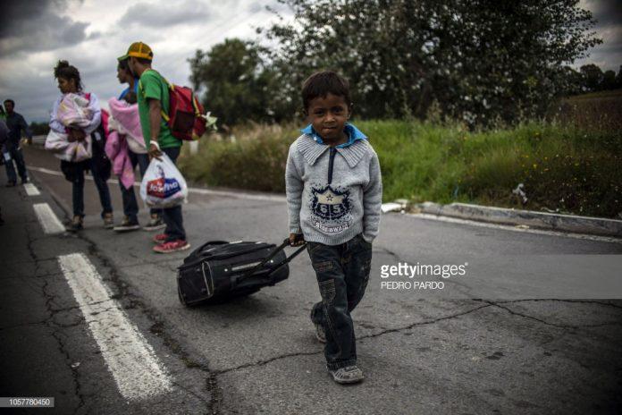latin-america-migrant-caravan-arrives-in-mexico-city