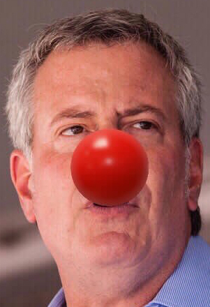CLOWN-MAYOR-NYC-BILL-DE-BLASIO