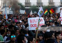 bolivia-election-protest