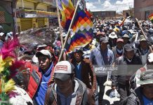 BOLIVIA-PROTESTS