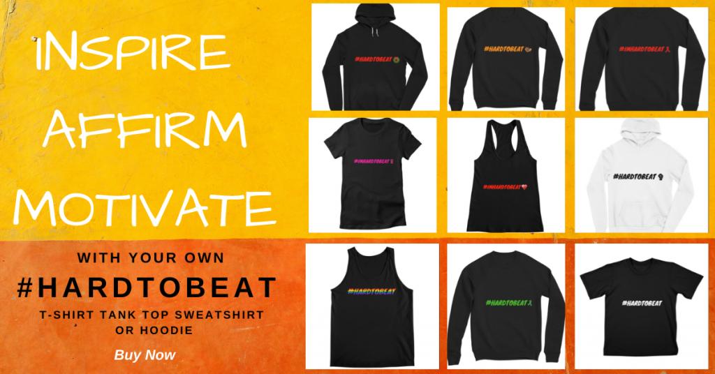 #HARDTOBEAT-inspire-clothing-line