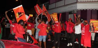 DLP-supporters-in-dominica-celebrate