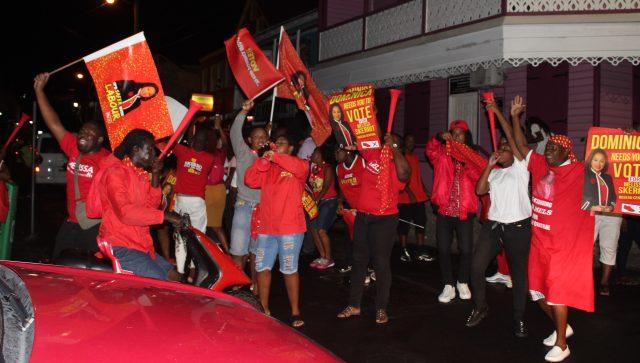 DLP-supporters-in-dominica-celebrate