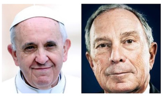 pope-francis-mike-bloomberg