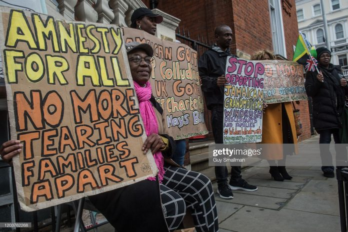 jamaicans-protests-in-uk