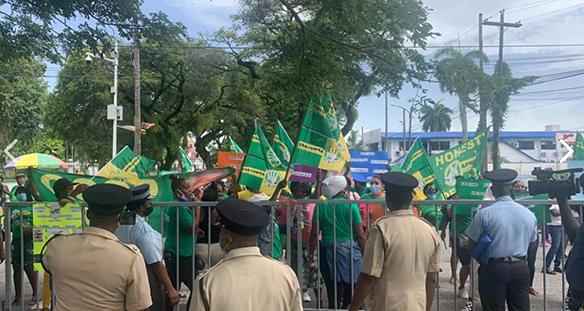 guyana-protest