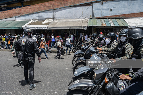 venezuela-coronavirus-security-forces