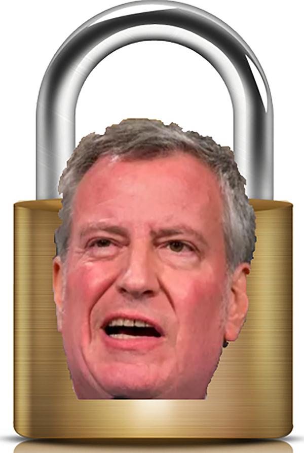 lock-bill-de-blasio-down