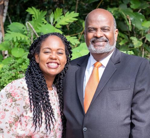 pastor-Elie-Henry-and-his-daughter