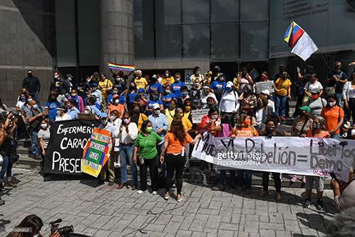 venezuela-womens-day-protest