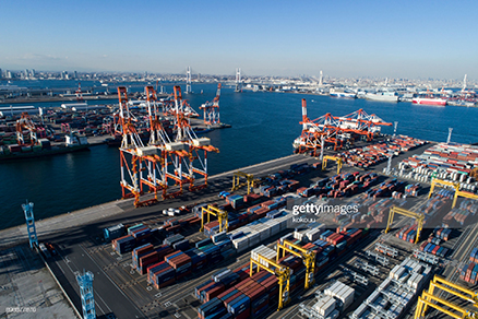 caribbean-container-port
