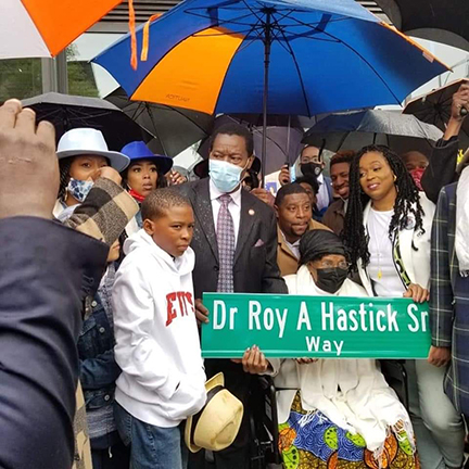 New York Street Co-Named After Late Caribbean American Chamber President