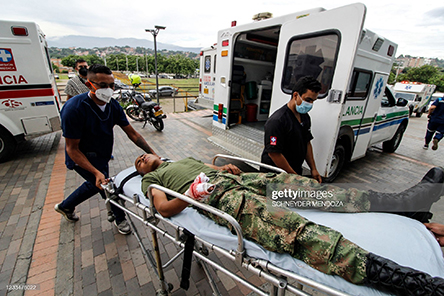 colombia-soldier-injured