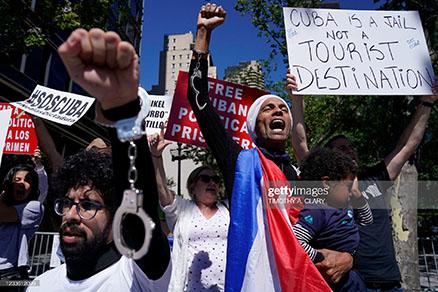 cuban-protestors-un-2021