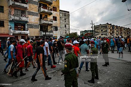 cubans-protest