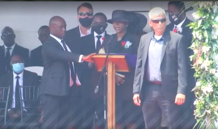first-lady-martine-moise-at-funeral-for-her-husband