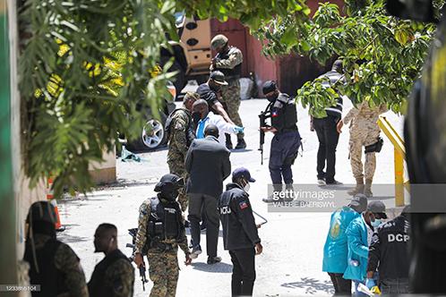 haiti-police-at-scene-of-assasination
